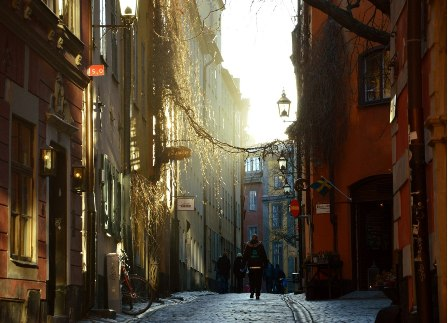 free tour Stockholm around the Gamla Stan