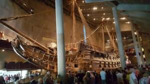 Inside Vasa Museum