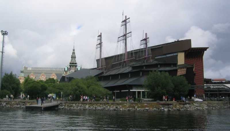 View of the Vasa Museum