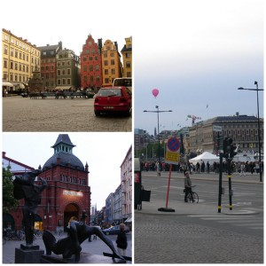 The capital of Scandinavia in Stockholm