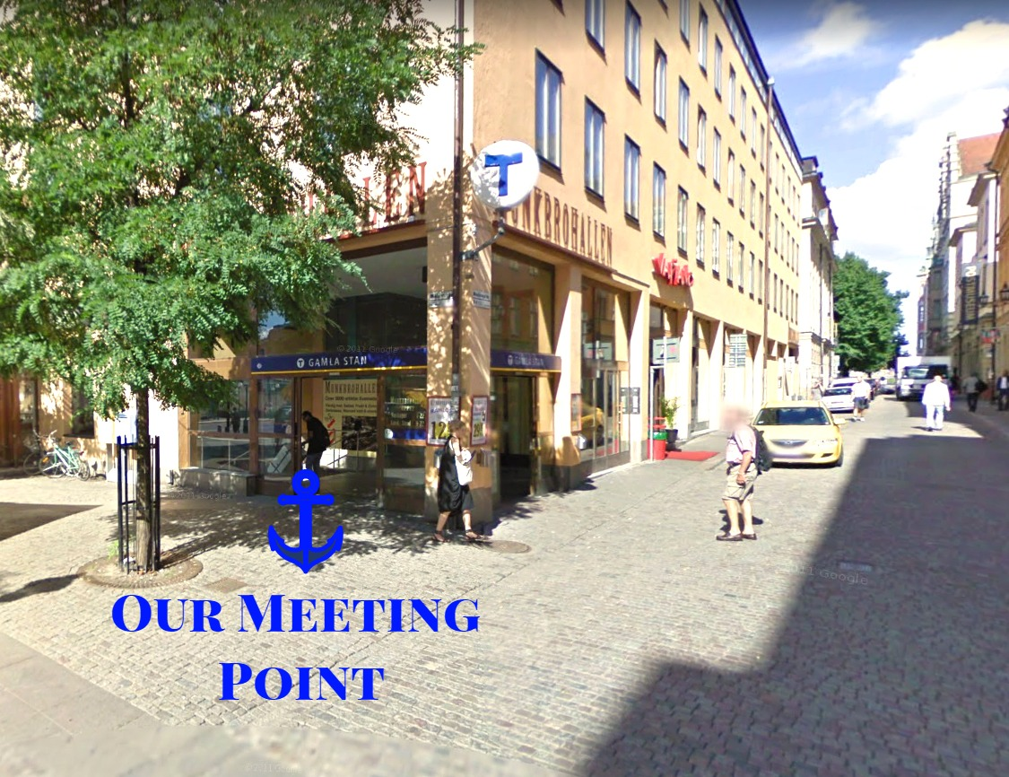free tour stockholm meeting point