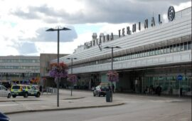 The largest airport in Sweden