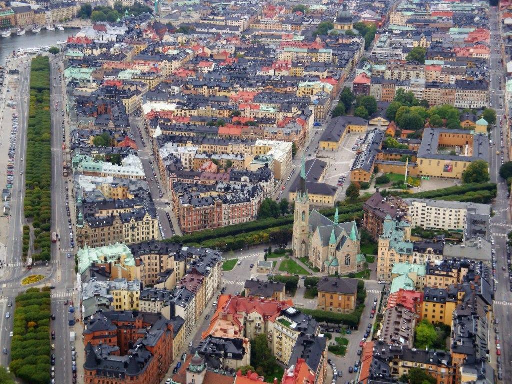 Stockholm Panorama Östermalm