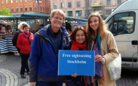 Free walking tours-living in Stockholm