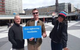 Walking tours-Stockholm landmarks