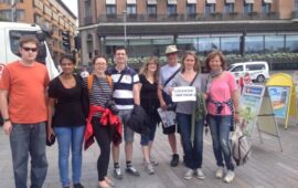 Free walking tours-accommodation in Stockholm