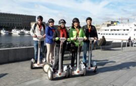 Segway Stockholm -Iocal Time In Stockholm