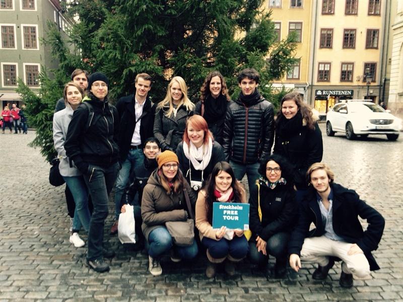 Städtetrip Stockholm Gamla Stan mit New Free Tour Stockholm