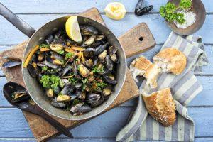 Vinkokta musslor