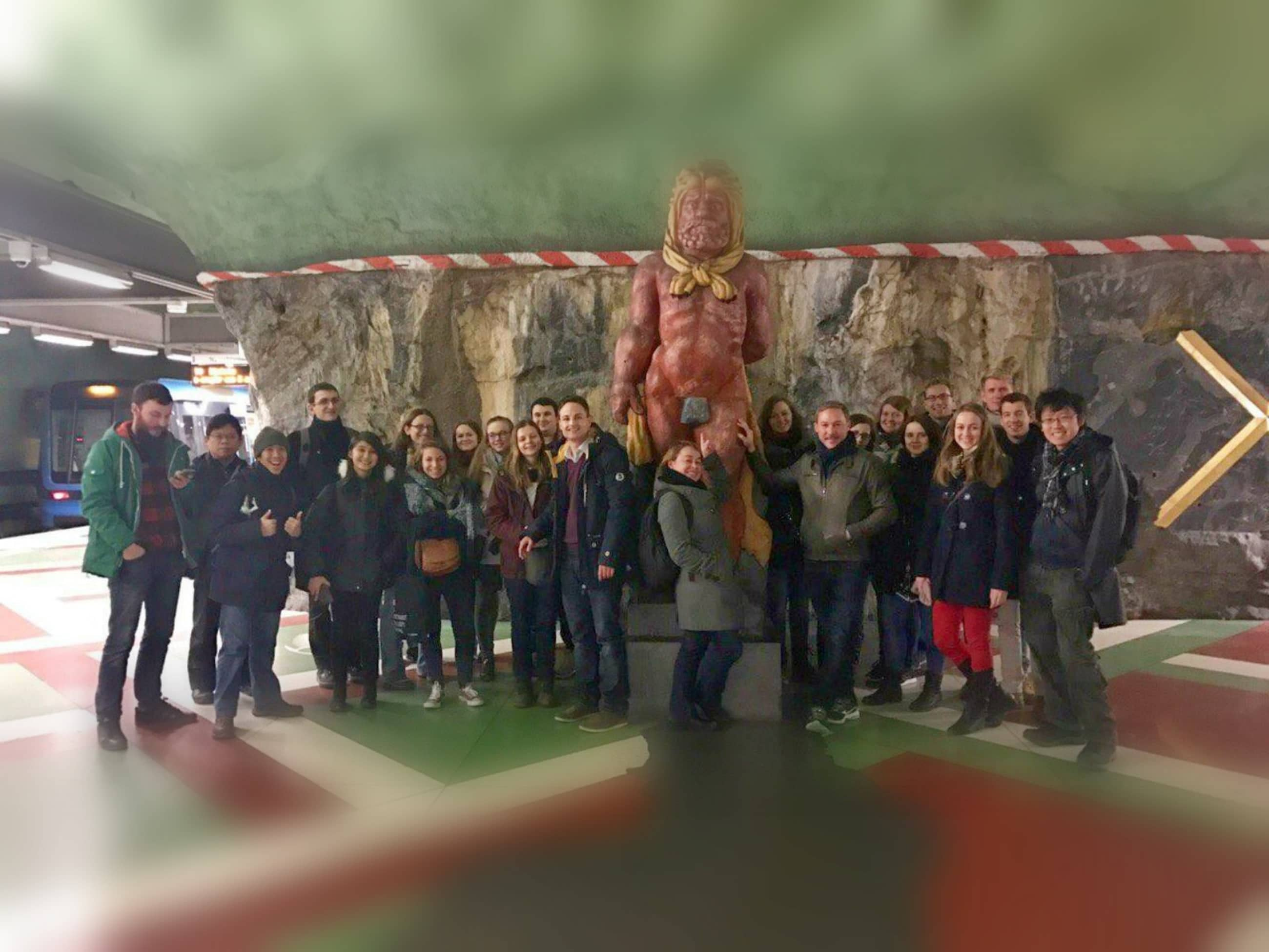 free tour stockholm subway